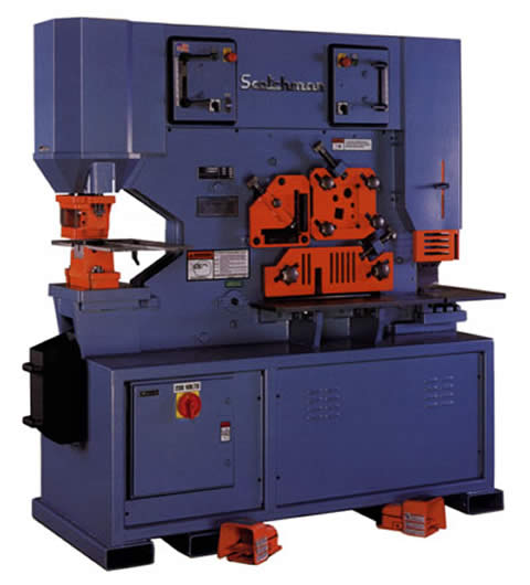 Scotchman Ironworker for Sale http://www.industrialmachinery.com/store/index.php?main_page=index&cPath=825_821